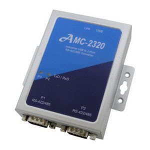 AMC-2320 : Industrial USB to 2-Port RS-422/485 Converter